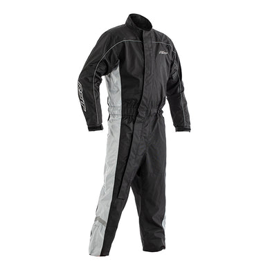 RST HI-VIS WATERPROOF 1PC SUIT RAINSUIT [GREY]