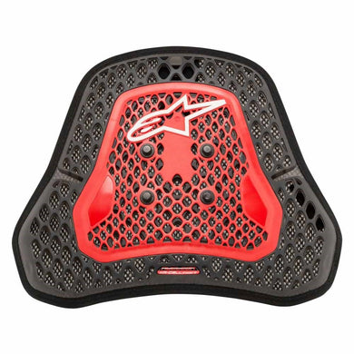 Nucleon KR-Cell CiS Chest Protector Transparent Smoke/Red L