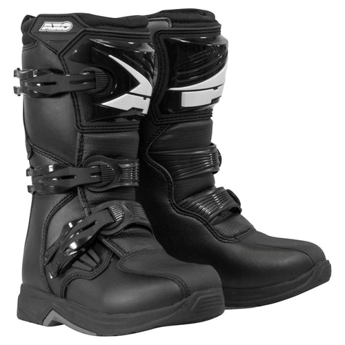 Axo Drone JR Youth Black Boots