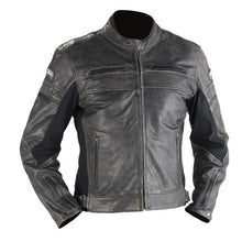 Load image into Gallery viewer, Octane Craker Leather Jacket
