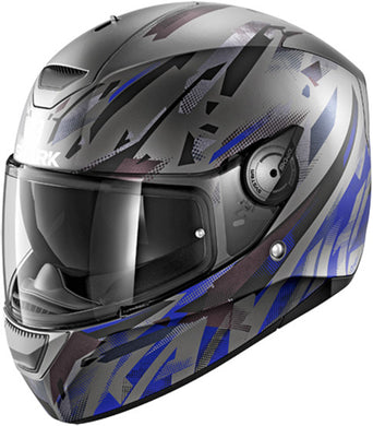 Shark D-Skwal Kanhji Ant/Blue/Black Full Face Road Helmet