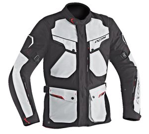 IXON Crosstour Textile Black/Grey Jacket