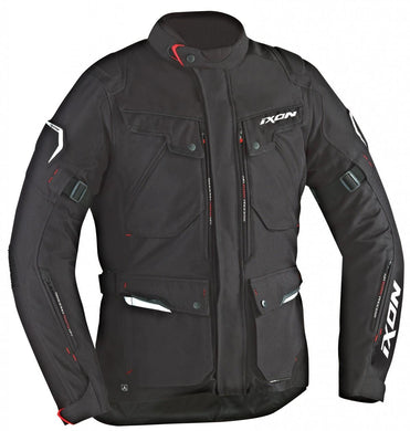 IXON Crosstour Textile Black Jacket