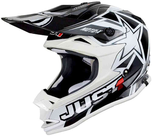 JUST1 J32 Youth Moto X White MX Helmet
