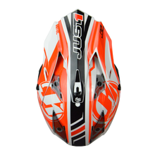 Load image into Gallery viewer, JUST1 J32 Pro Rave Black/Orange MX Helmet