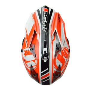 JUST1 J32 Pro Rave Black/Orange MX Helmet