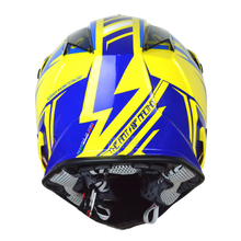 Load image into Gallery viewer, JUST1 J32 Pro Rave Blue/Yellow MX Helmet