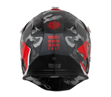 Load image into Gallery viewer, JUST1 J32 Swat Camo Red Matt Helmet