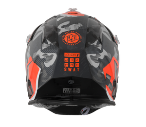 JUST1 J32 Swat Camo Orange Youth Helmet