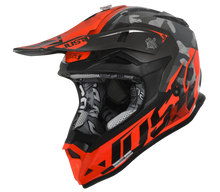 Load image into Gallery viewer, JUST1 J32 Swat Camo Orange Youth Helmet