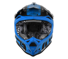 Load image into Gallery viewer, JUST1 J32 Swat Camo Blue Helmet