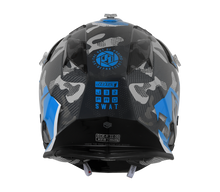 Load image into Gallery viewer, JUST1 J32 Swat Camo Blue Youth Helmet
