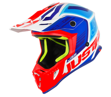 Load image into Gallery viewer, JUST1 J38 Blade MX Helmet - Blue/Red/White Gloss