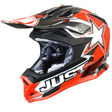 Load image into Gallery viewer, JUST1 J32 Youth Moto X Red MX Helmet