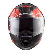 Load image into Gallery viewer, LS2 FF320 Stream Evo Kub Black/Red Full Face Road Helmet