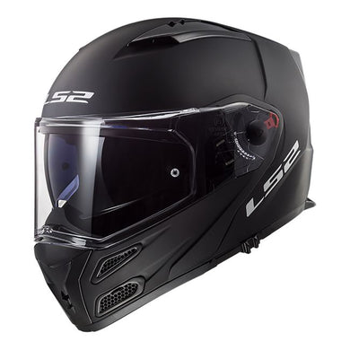LS2 FF324 Metro Matt Black Flip Full Face Road Helmet