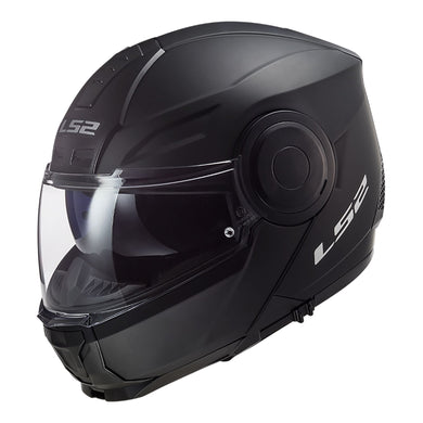 LS2 FF902 Scope Matte Black Flip Front Road Helmet