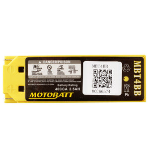 Motobatt MBT4BB Quadflex Battery