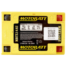 Load image into Gallery viewer, Motobatt MBTX14AU Quadflex Battery