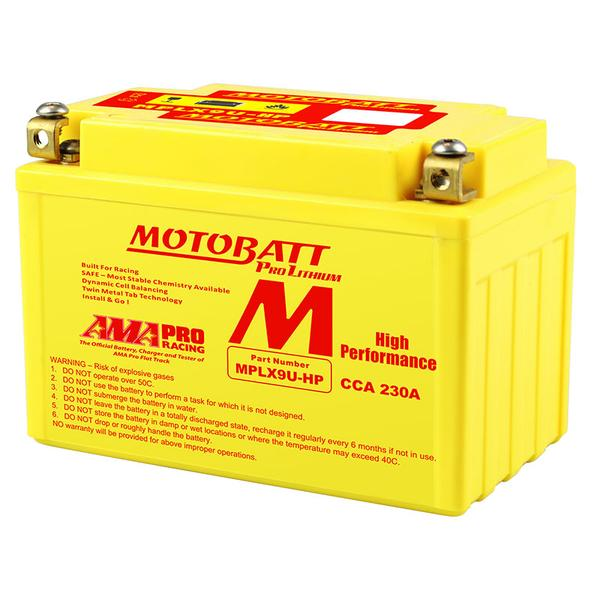 Motobatt MPLX9U-HP Pro Lithium Battery