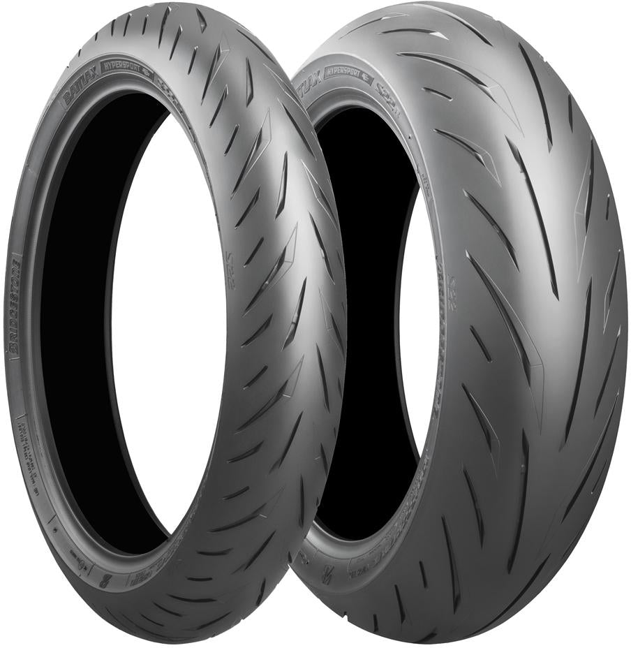 Set - Bridgestone S22 110/70R17 Front & 140/70R17 Rear Road Tyres