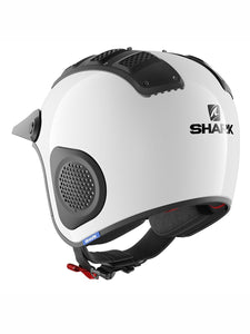 Shark ATV-DRAK Farm White Helmet