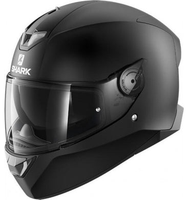Shark Skwal 2 Blank Matt Black Full Face Road Helmet