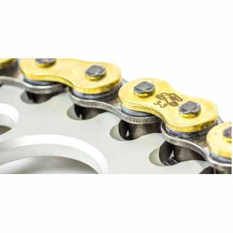 Renthal R3-3 chains are specially developed utilising Renthal's SRS technology to increase the service life