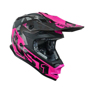 JUST1 J32 Swat Camo Pink Youth Helmet