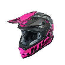 Load image into Gallery viewer, JUST1 J32 Swat Camo Pink Youth Helmet