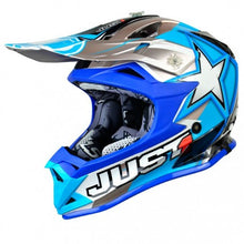 Load image into Gallery viewer, JUST1 J32 Youth Moto X Blue MX Helmet