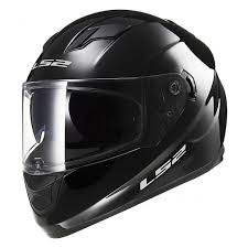 LS2 FF320 Stream Gloss Black Full Face Road Helmet