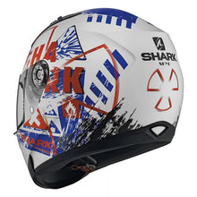 Load image into Gallery viewer, Shark Ridill Skyd White/Blue/Red Road Helmet