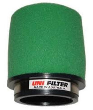 Load image into Gallery viewer, Uni Filter Straight Pod - 38mm intake, 100mm length, 72mm O.D.