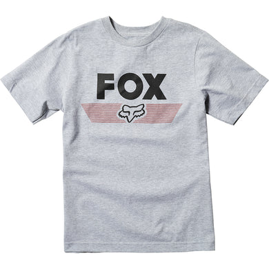 FOX Youth Aviator SS Light Grey Tee T-Shirt