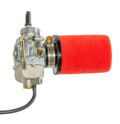 Uni Filter Straight Pod - 40mm intake, 100mm length, 72mm O.D.