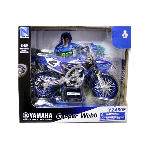 Yamaha Factory Racing YZF 1:12 Diecast Cooper Webb