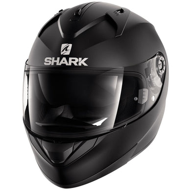 Shark Ridill Blank Matt Black Full Face Road Helmet