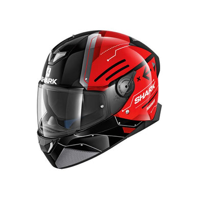 Shark Skwal 2 Warhen Gloss Black/Red Road Helmet
