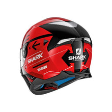 Load image into Gallery viewer, Shark Skwal 2 Warhen Gloss Black/Red Road Helmet