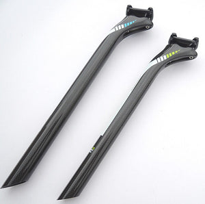 25MM 3k Seatpost Carbon Fiber 27.2/30.8/31.6*350/400mm