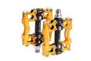 RockBros Mountain Bicycle Ultralight Pedals Aluminum Alloy Axle 9/16""