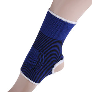 1Pair Elasticated Knee Blue Knee Pads Joint Support