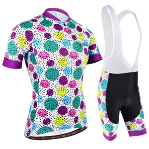 BXIO Brand Women Cycling Clothing V-collar Bike Wear For Girls Pro Team Bicycle Uniform Ropa Ciclismo Road Cycling Jerseys 176