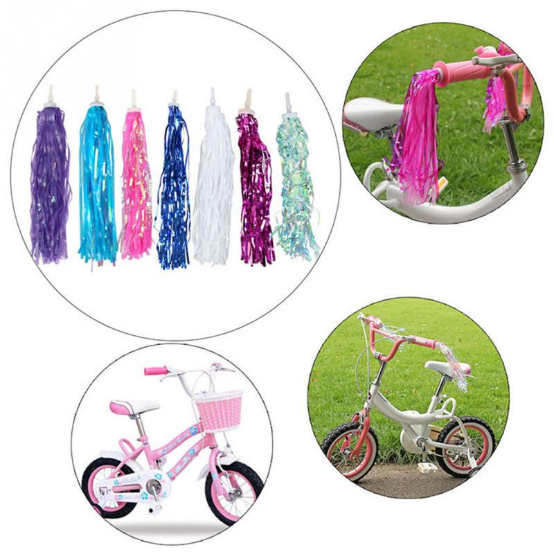 1 pair Tricycle Kids Girls Handlebar Tassels