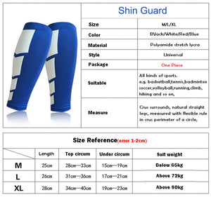 1 Pair Cycling Leg Warmers Compression Shin Guard
