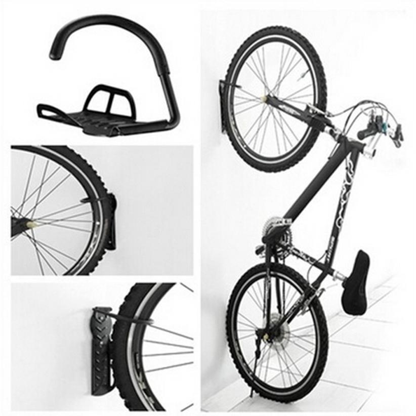 Bicycle Wall Hanger Bike Storage System For Garage or Shed