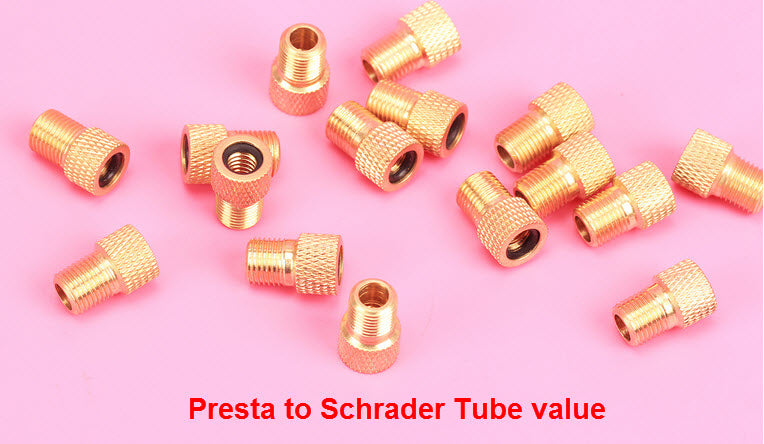Pump Air Valve Presta to Schrader Converter
