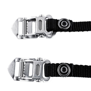 1-Pair Cycling Pedal Strength Nylon Straps Clips