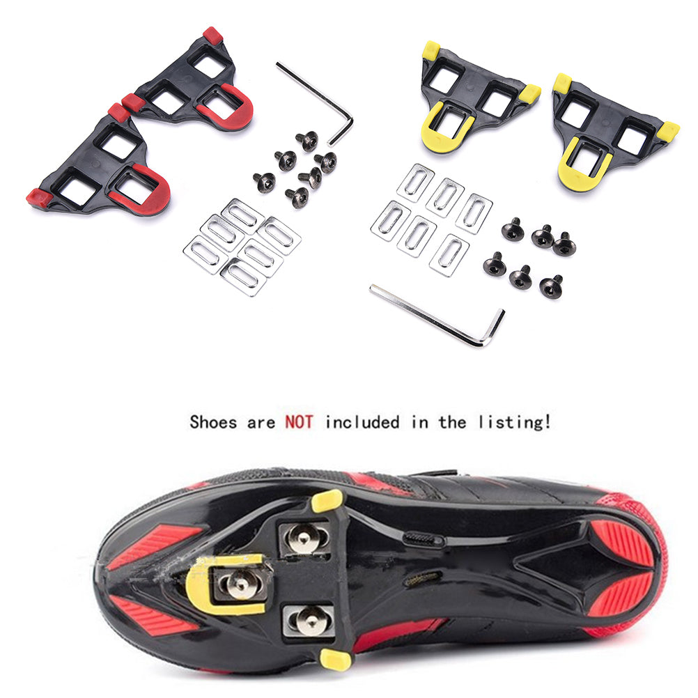 1 Set of Cleats Locking Plate Splint For Shimano Spd System Bike Pedal